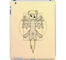 Vitruvian Mare - black iPad Case/Skin