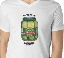 Pickle Me Mens V-Neck T-Shirt