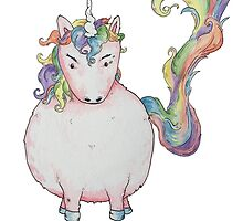 Angry Unicorn by Pegg-n-Chops