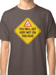 Wet ride Classic T-Shirt