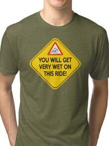 Wet ride Tri-blend T-Shirt