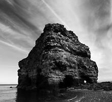 Marsden Rock, South Tyneside by PaulBradley