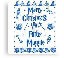 Harry Potter Muggle Christmas Canvas Print