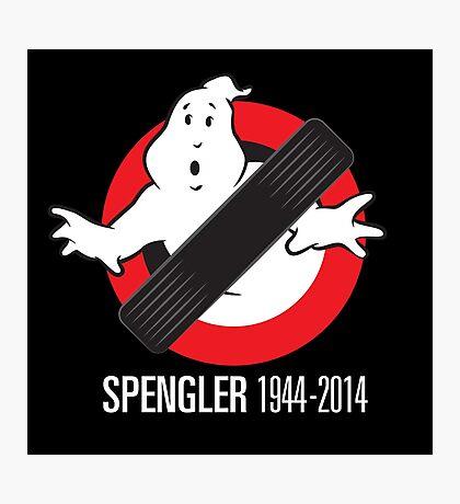 RIP Spengler Photographic Print