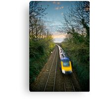 Train Spotted Canvas Print
