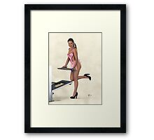 The Way to a Man's Heart Framed Print