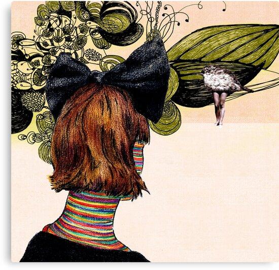 the new girl  by Randi Antonsen