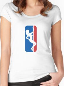 Major League Stipper (HIMYM) Women's Fitted Scoop T-Shirt