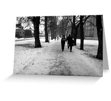 Of Snow Greeting Card