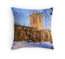 Ecclesfield Church Throw Pillow