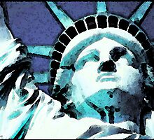 Statue of Liberty - Ms Liberty by Sharon Cummings