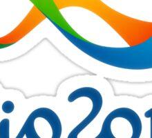 Olympics in Rio 2016 Best Logo Sticker