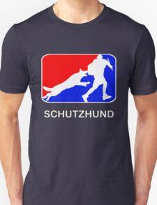 Schutzhund red white and blue Unisex T-Shirt