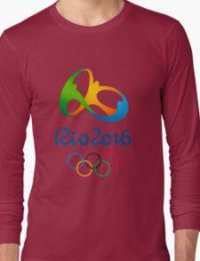 Olympics in Rio 2016 Best Logo Long Sleeve T-Shirt