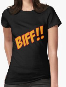 biff Womens Fitted T-Shirt