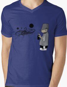 graffiti man Mens V-Neck T-Shirt