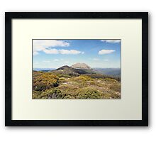 bright days on the trail Framed Print