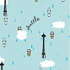 Seattle & Coffee (iphone) by skyekathryn