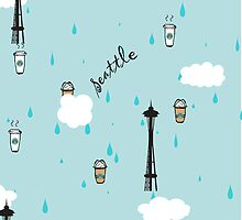 Seattle & Coffee (iphone) by skyekathryn