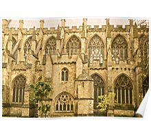 Windows of Exeter Cathedral Poster