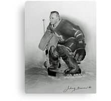 Johnny Bower Canvas Print