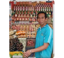 Food Waurung iPad Case/Skin