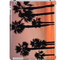 Palm Trees in the Sunset iPad Case/Skin