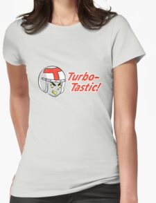 Go Turbo Go! Womens Fitted T-Shirt