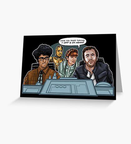 IT Wars Greeting Card