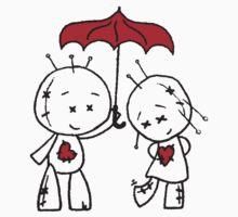 VooDude - I Love The Rain One Piece - Short Sleeve