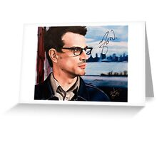 Matthew Good- Vancouver Greeting Card