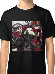 Black red Rose Classic T-Shirt