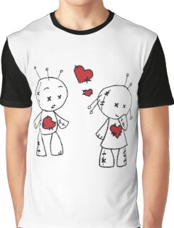 VooDude - Love At First Sight Graphic T-Shirt