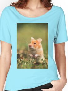 golden hamster pet Women's Relaxed Fit T-Shirt