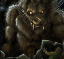 Big Ol' Wolf Sticker
