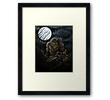 Big Ol' Wolf Framed Print
