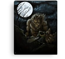 Big Ol' Wolf Canvas Print