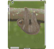 Sloth drawn on an iPad iPad Case/Skin