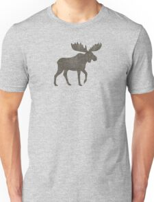Moose Silhouette(s) Unisex T-Shirt
