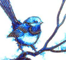 Simply Blue - Wren Sticker