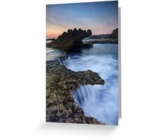 Along the Dragon's Reef - Blairgowrie, Victoria, Australia Greeting Card