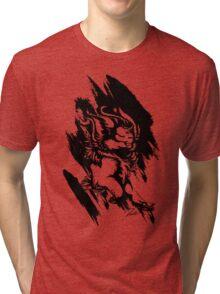 Run Wild (Black/White) Tri-blend T-Shirt