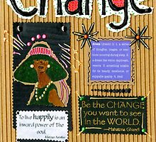 Change - A Handmade Card by © Angela L Walker