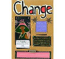 Change - A Handmade Card Photographic Print