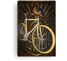 Demon path racer bicycle Canvas Print