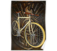 Demon path racer bicycle Poster