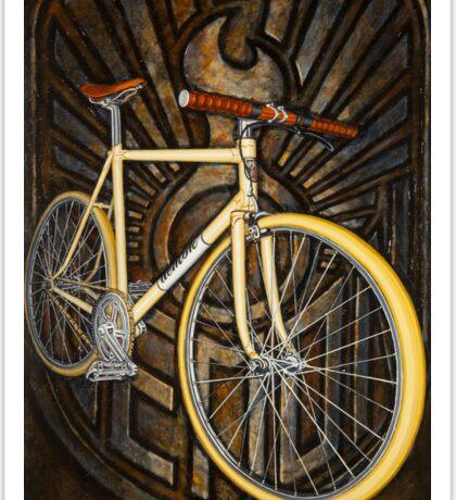 Demon path racer bicycle Sticker