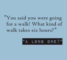 A long walk jace? by AlaJonea