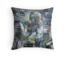 presence in the winter Throw Pillow