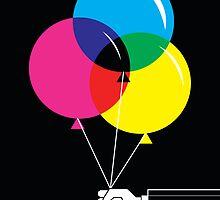 CMYK Balloons by DaviesBabies